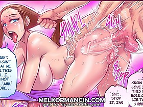 I know you love it on sex comics. This wet hole can't lie to me! Look at this, balls deep in your ass