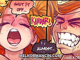 Shut your mouth and fuck me harder at xxx comics
