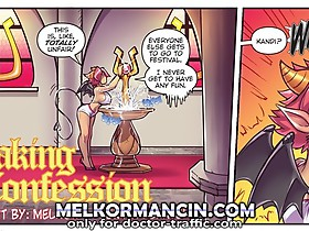 I think it's time you learned how to take a confession. These cartoon tits of yours is delicious!