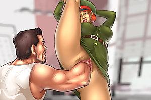 Tight cartoon pussy hardcore and deep fisted by kinky bastard