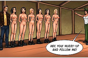 Sexy nude babes trained in army in shocking porn comics