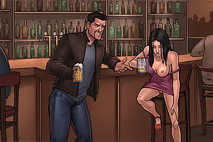 Come on, you are drunk, let's go outside and I'll fuck you hard as on comic porn games