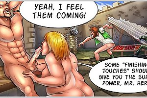 Some finnishing touches at blowjob comics should give you the super power!