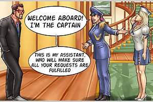 Welcome aboard! I'm the captain of this cartoon sex games!