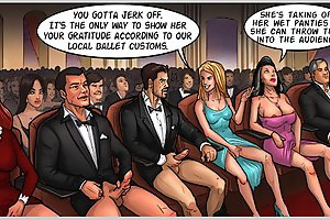 Best porn comics with horny dude jerking off in the opera