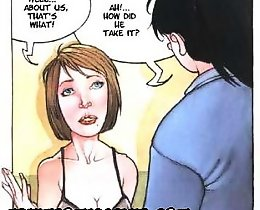 Two girls after hot lesbian love erotic comics