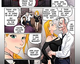 Another horny father-in-law sex comics