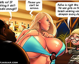 Cartoon porno pictures. We notice females on the seaside dressed in way scantier daily!
