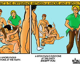 Cartoon sex comics. The whore fucks every person at the gathering, bitch screws everybody on the party except you.