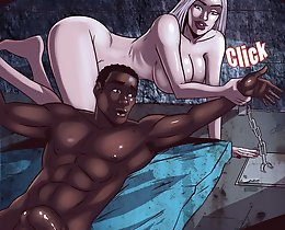 Now my turn at interracial comics porn girl! At the moment I want to bang your butts