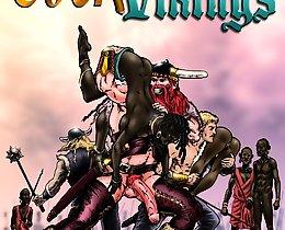 Ebony slave girls and vikings interracial cartoons