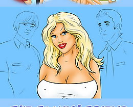 Cartoon comic porn. My girlfriend is a taller alluring golden-haired having great titties, very long legs together with rounded booty