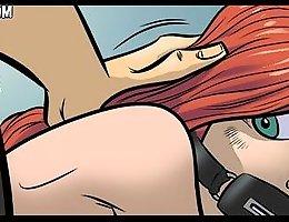 Jab spank comics