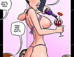 Enjoy jab porn comics to see how nerds are banging with a model