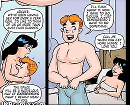 JKR comix. Betty and Archie porn