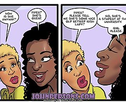 Interracial porn comics at its best, only in John Persons xxx