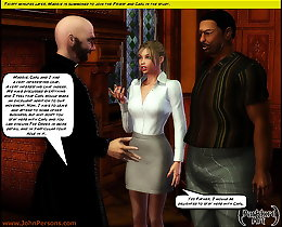 Young white cocksucker and black master 3d toon porn