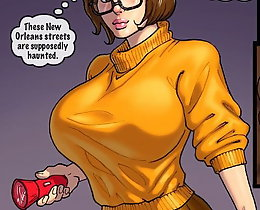 Velma porn. John Persons interracial sex fantasy with Velma Dinkley