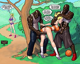 White preggo girl and fathers black dick. John Persons black cartoon fuck