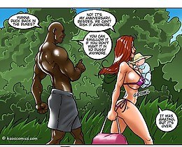 Kaos interracial comics presents the ultimate black&white sex bustle