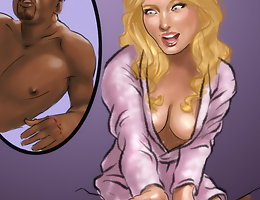 Interracial porn comics its keep Taylor Swift working on fantastic blowjob and enjoy it completely