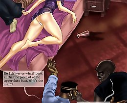 Hard hotel - interracial toon sex gallery with FMM threesome